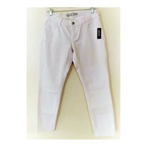 Old Navy Rockstar Skinny Jeans in white, Size 8
